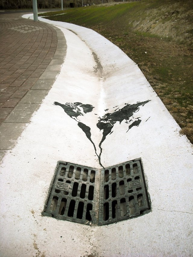 World IS Going Down The Drain