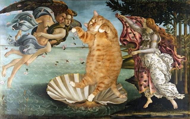 "Bức họa ""The Birth of Venus"" của Sandro Botticelli<br />"