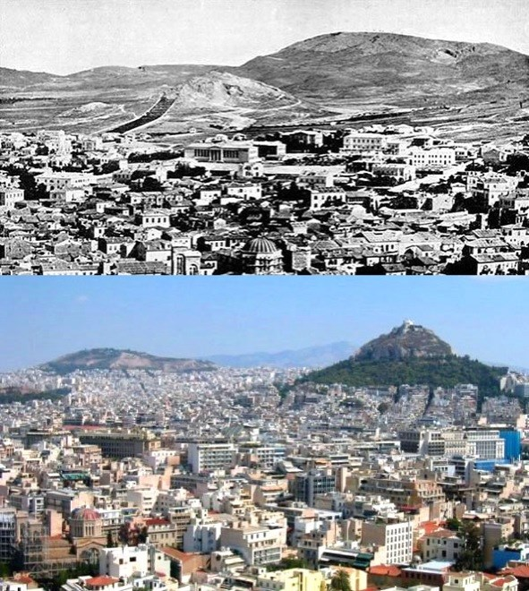 Athens, Greece, 1860-2010