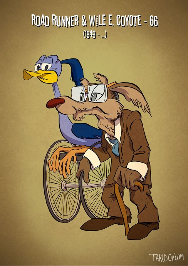 Road Runner & Wile E. Coyote – 66 (1949 – …)<br />